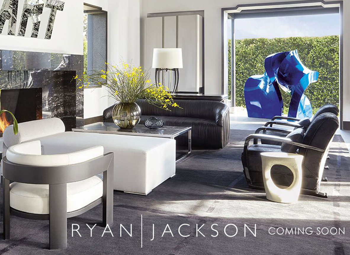 Ryan Jackson Luxury Furniture Collection coming soon