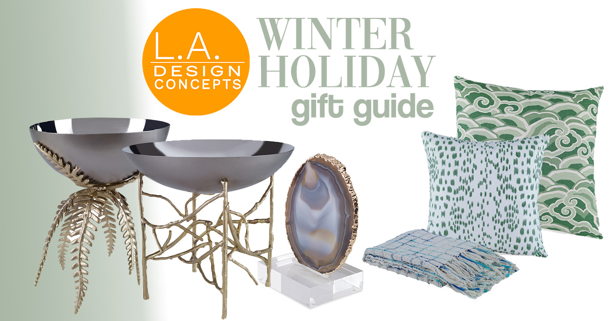 winter holiday home decor gift guide
